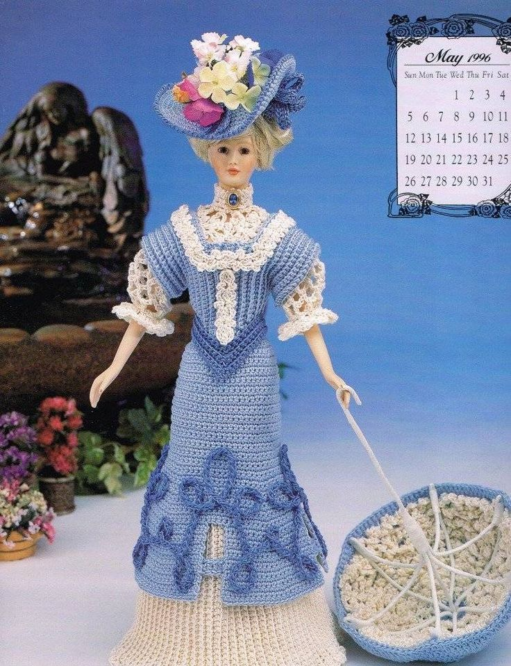 May Calendar Girl Book : Best fashion doll crochet patterns images on pinterest