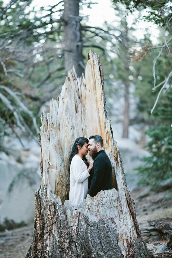 Palm Springs hiking engagement shoot | Photo by Jasmine Fitzwilliam | Read more - http://www.100layercake.com/blog/?p=71797