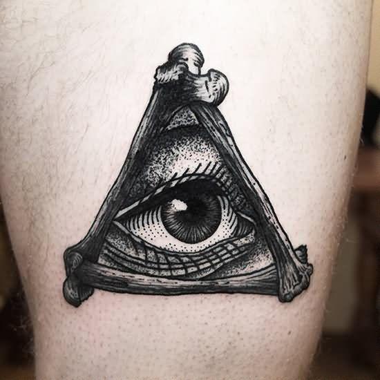 Eye In Illuminati Eye Tattoo Design
