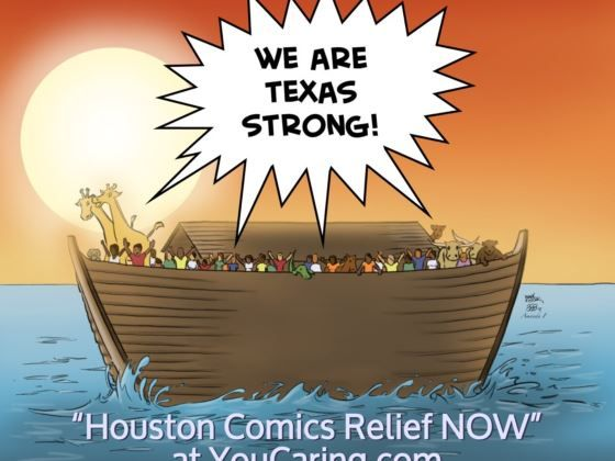 Help those struggling with the devastation of hurricane Harvey in Houston.  One of our presenters, Mark Kistler, started a relief fund for his fellow Houstonians. Please share!