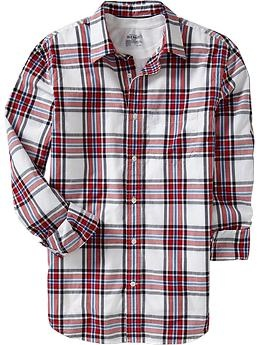 Men's Everyday Classic Slim-Fit Shirts | Old Navy  (XL)  For Anthony