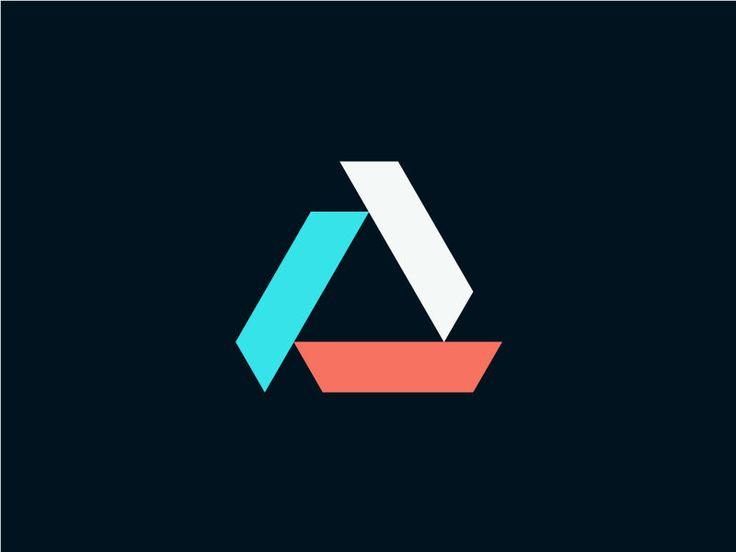 best 25 triangle logo ideas on pinterest geometry