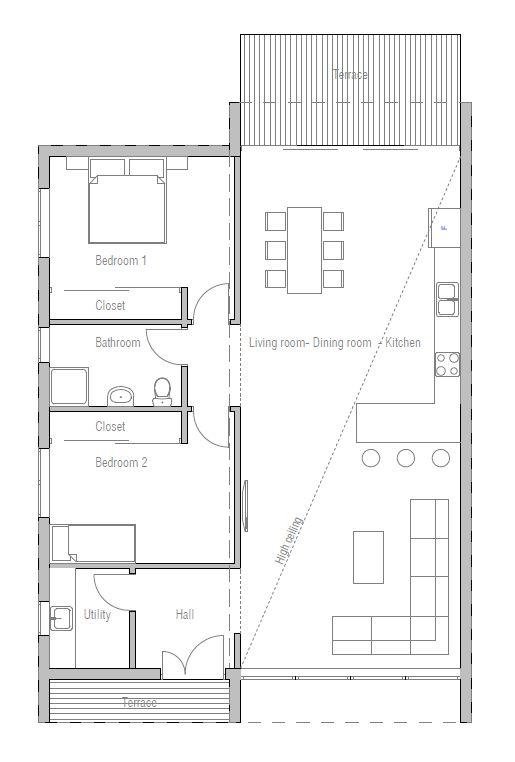36 best мой дом images on Pinterest Small houses, Shipping - plan cuisine restaurant normes
