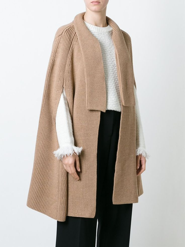 MSGM knitted cape