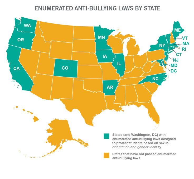 33 states don't protect LGBT students in anti-bullying laws #stopthehate
