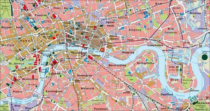 London | Innenstadt | London/Paris | Karte 113/3