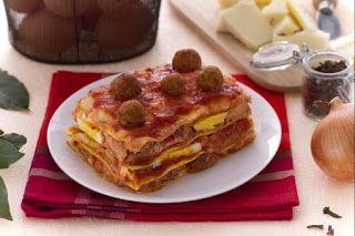 Denny Chef Blog: Lasagne di Carnevale con polpettine