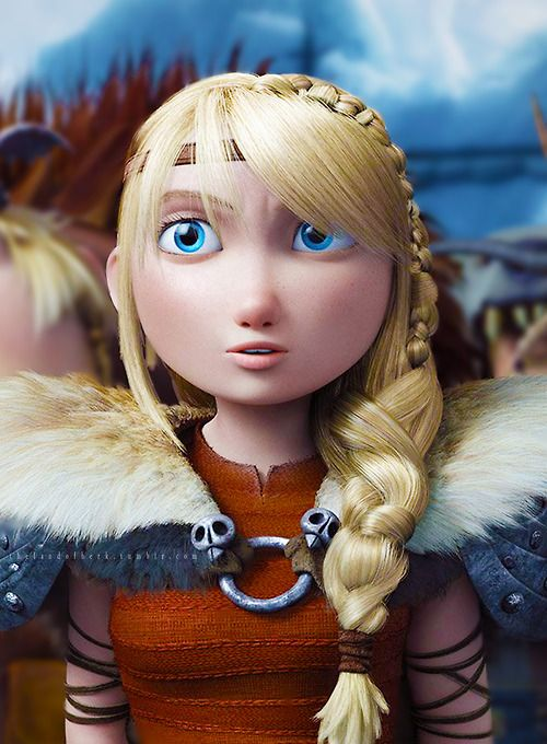 """Beautiful Despite herself, she's tough and rational… A strong sense of duty defines Astrid to the core. She will always do what must be done without regard for herself. So when trouble threatens the people and dragons she loves, Astrid stops at nothing to defend them…"" 