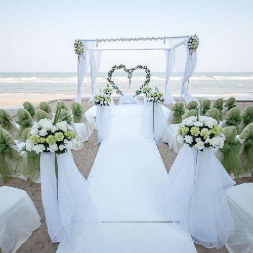 #Matrimonio (da favola) in spiaggia: alle #Maldive la prima chiesa nell'acqua