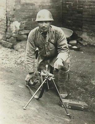 war heroe -japanese army war veteran corporal Shimomura Tomekichi, killed in action in 1938