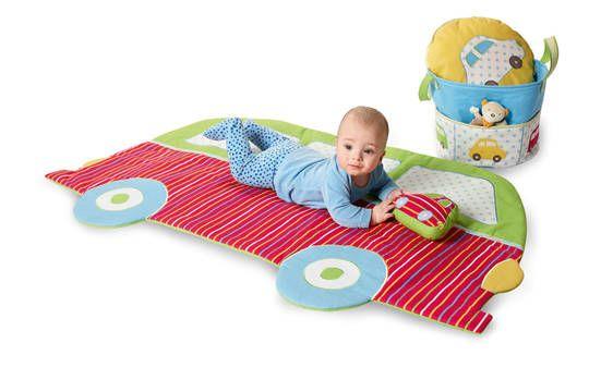 Spieldecke fürs Baby in Autoform - Schnittmuster via Makerist.de