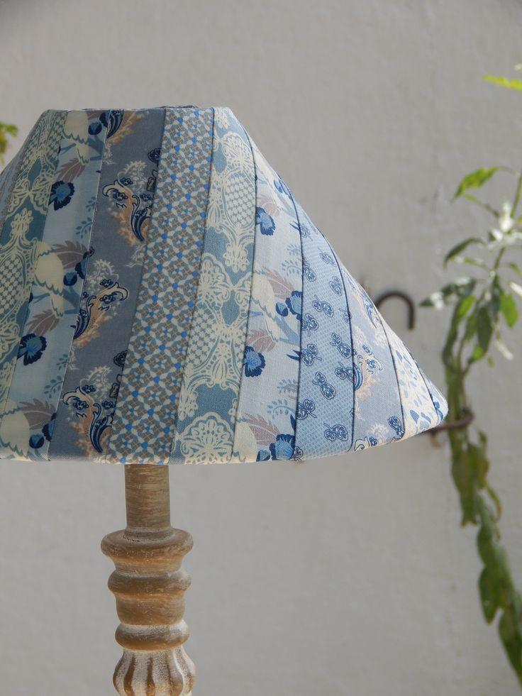 Pantalla lámpara patchwork