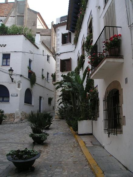 Typical Sitges Street