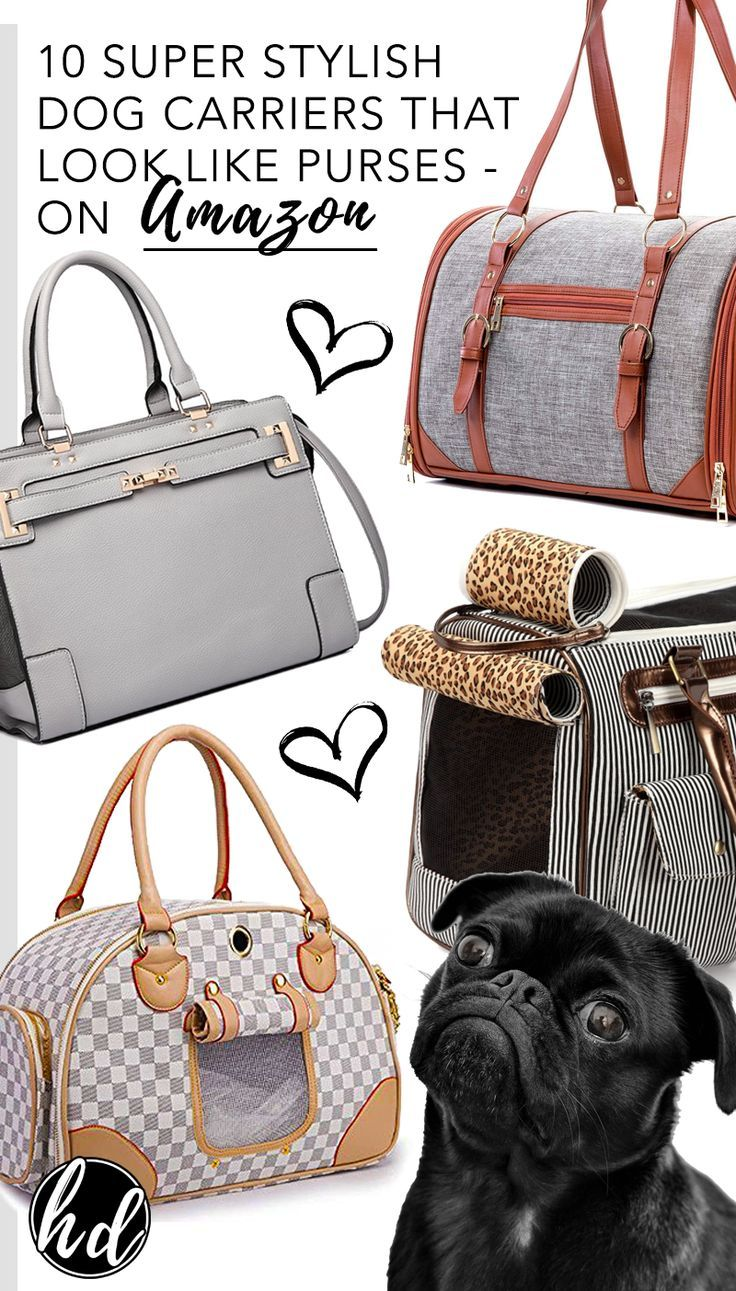 10 Super Stylish Dog Carriers That Look Like Purses Under 75 On