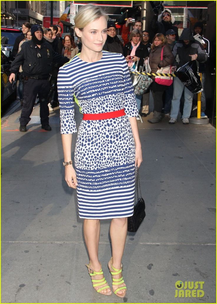 Diane Kruger: 'The Host' on 'Good Morning America'!
