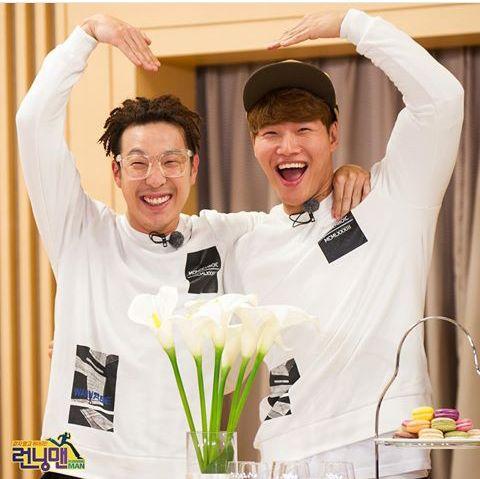 Ha Ha and Kim Jong Kook