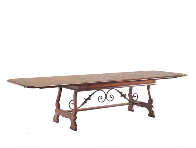 FG616 TABLE 100% hand made in Italy www.marchettimaison.com