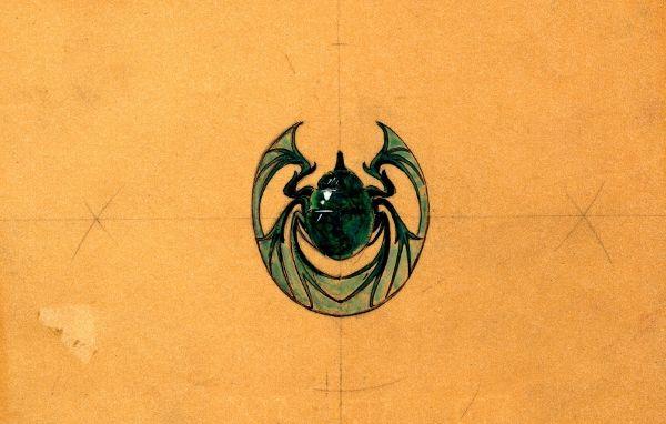 Dessin Broche Scarabee Lalique
