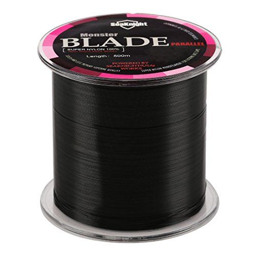 SeaKnight Monofilament Nylon Fishing Line Japan Material Carp Fishing Line Rope Black 2LB/0.9KG/0.1mm/500 Meters  http://fishingrodsreelsandgear.com/product/seaknight-monofilament-fishing-line-500m-nylon-fishing-line-japan-material-carp-fishing-line-rope-2-35lb/?attribute_pa_color=black&attribute_pa_size=2lb-0-9kg-0-1mm-500m-549yds  Material of Monofilament Nylon Fishing Line:100% super nylon. SeaKnight Monofilament Fishing Line is the finest professional tournament grade mon