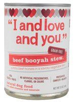 I and Love and You Dog Food Beef Booyah Stew -- 13 oz >>> Check this awesome product by going to the link at the image. (This is an affiliate link and I receive a commission for the sales)