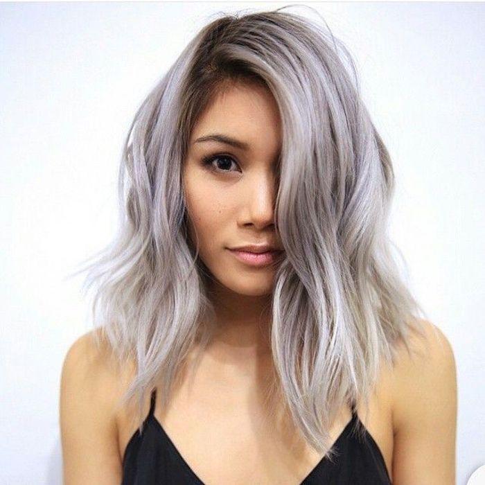 Kupfer haare grau farben