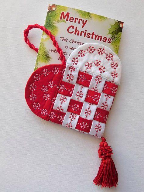 Fabric Swedish Heart Tutorial