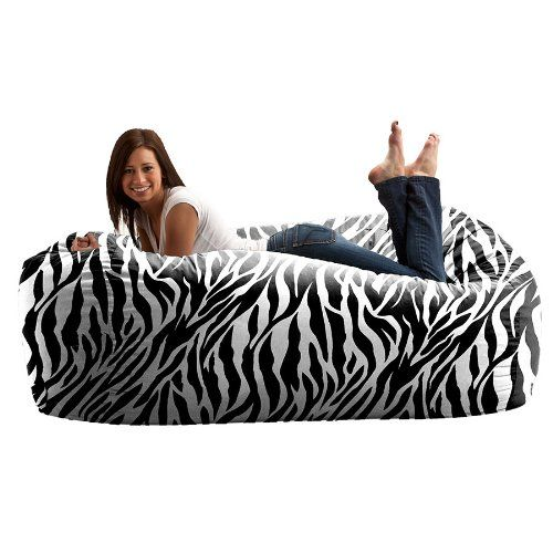 Six Foot Media Bean Bag Lounger More Foter