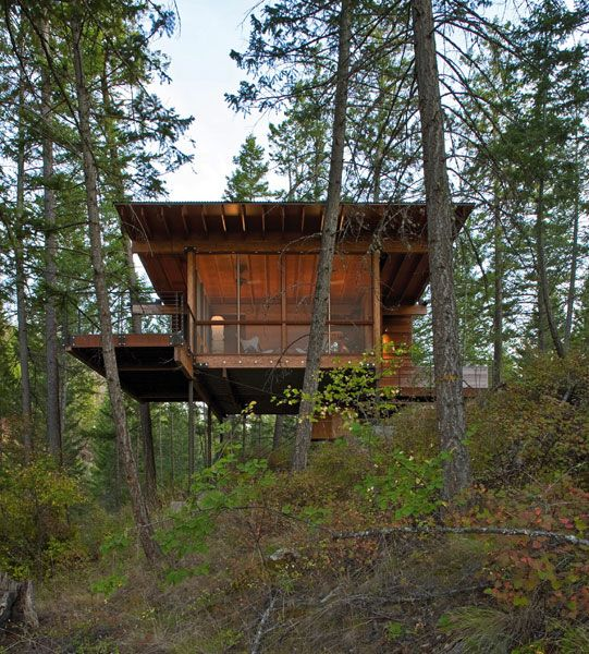 Cottage On Stilts By Andersson Wise Architects: 1000+ Images About Green Architecture On Pinterest