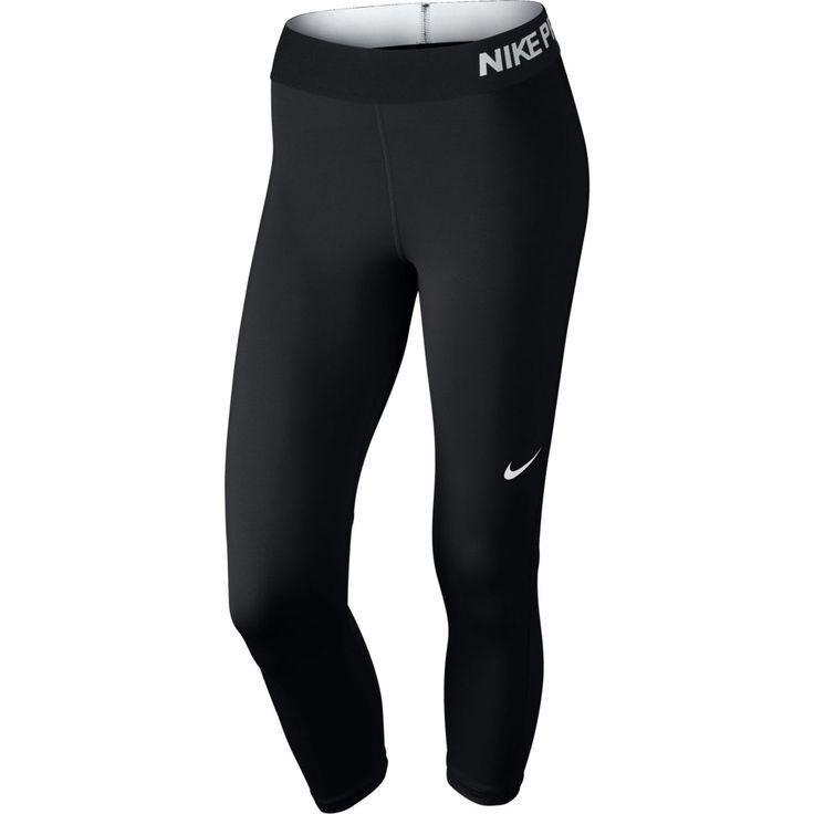 Musta Nike Pro Cool Capri, naisten treenitrikoot - Naisten 3/4 trikoot - xxl.fi