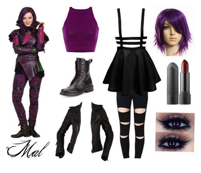 Mal Descendants Costume By Kodok1 Liked On Polyvore Featuring Disney Rag Bone And