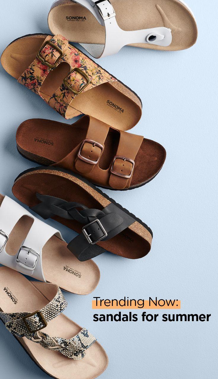 Trending sandals, Flip flop shoes