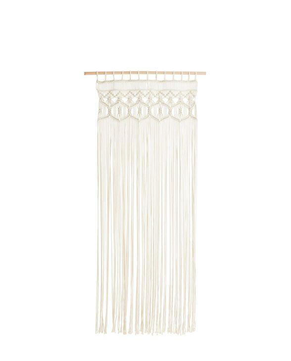 wandbehang macrame beige one size geliebtes zuhause wolle