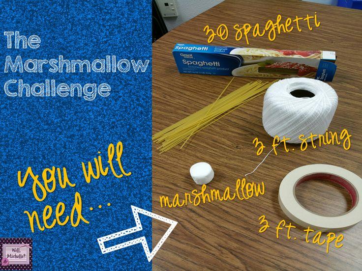 The Marshmallow Challenge!