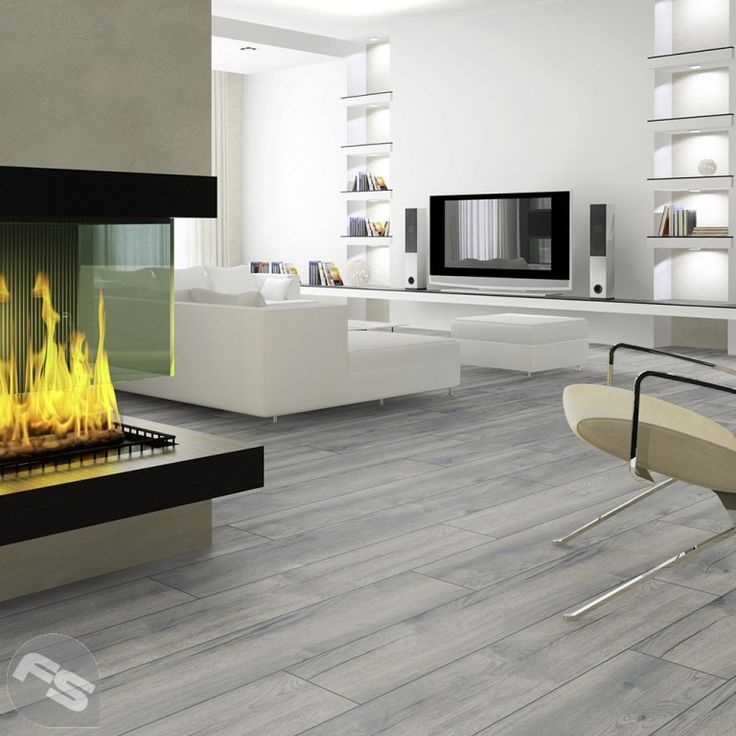 Interior White Floors: Interior: Fascinating Grey And White Checkered Laminate