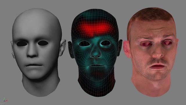 "British Gas ""Destination Future"" Facial Tests by Psyop"