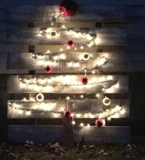 Christmas Tree Pallet Pallet Diy Candle Holders Tall Diy Candle Wax Recipe Diy Candle Pillars
