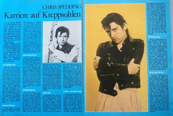 ♬''' CHRIS SPEDDING - Clipping/Bericht aus dem Jahr 1976 - Musikzeitschrift... :) ...'''♬ http://m.ebay.com/itm/CHRIS-SPEDDING-Clipping-Bericht-aus-dem-Jahr-1976-Musikzeitschrift-/361826948108?hash=item543e91140c%3Ag%3AqNUAAOSwx2dYJ0bz&_trkparms=pageci%253Aa134f135-acdd-11e6-8054-005056a06bb4%257Cparentrq%253A72fbd84e1580a6a5d2eba587fff5af6c%257Ciid%253A9