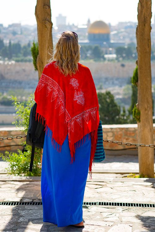 What to wear in Israel when visiting religious places
