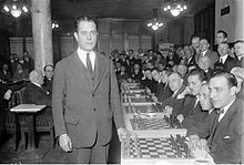 Jose was a Cuban chess player who was world chess champion from 1921-1927. Wrote several chess book and people say it the best chess book  ever