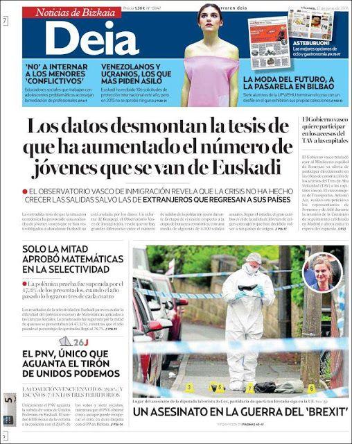 ABC DE LA MAR MENOR: Elecciones 26J Recortes de Prensa III