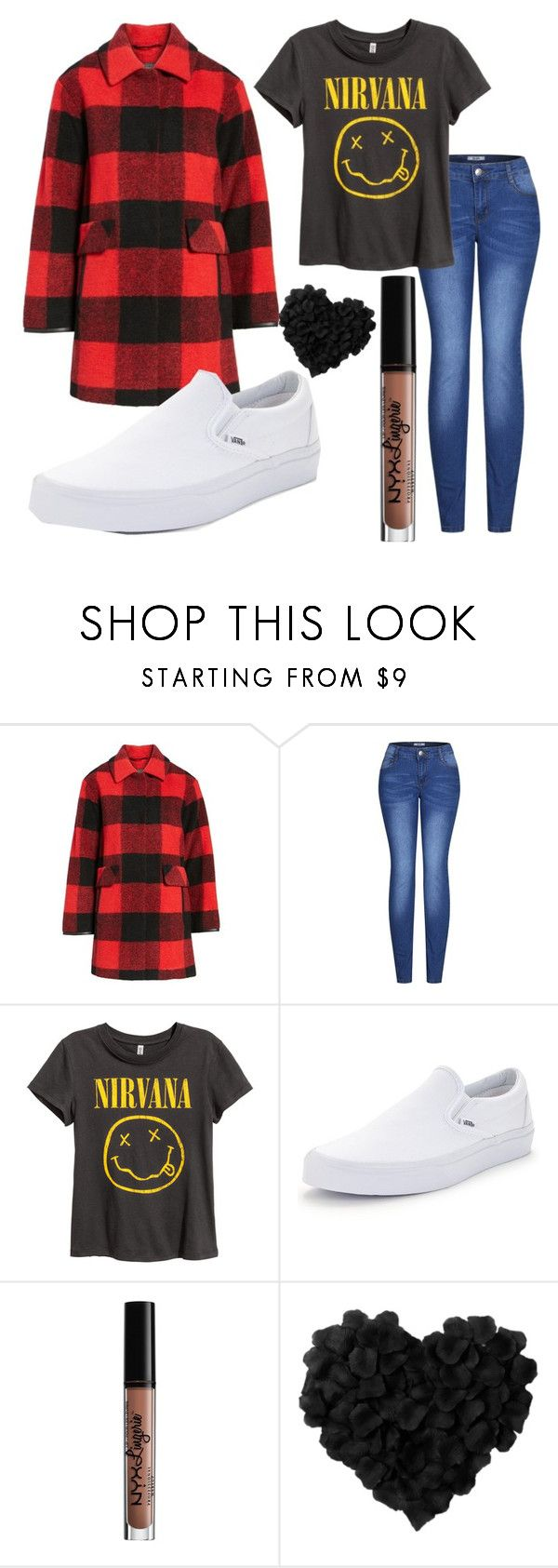 """""""Untitled #182"""" by rylee-pulver ❤ liked on Polyvore featuring Pendleton, 2LUV, Vans and NYX"""