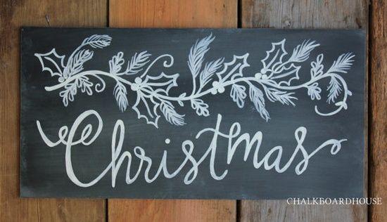 chalkboard art - chalkboard house etsy