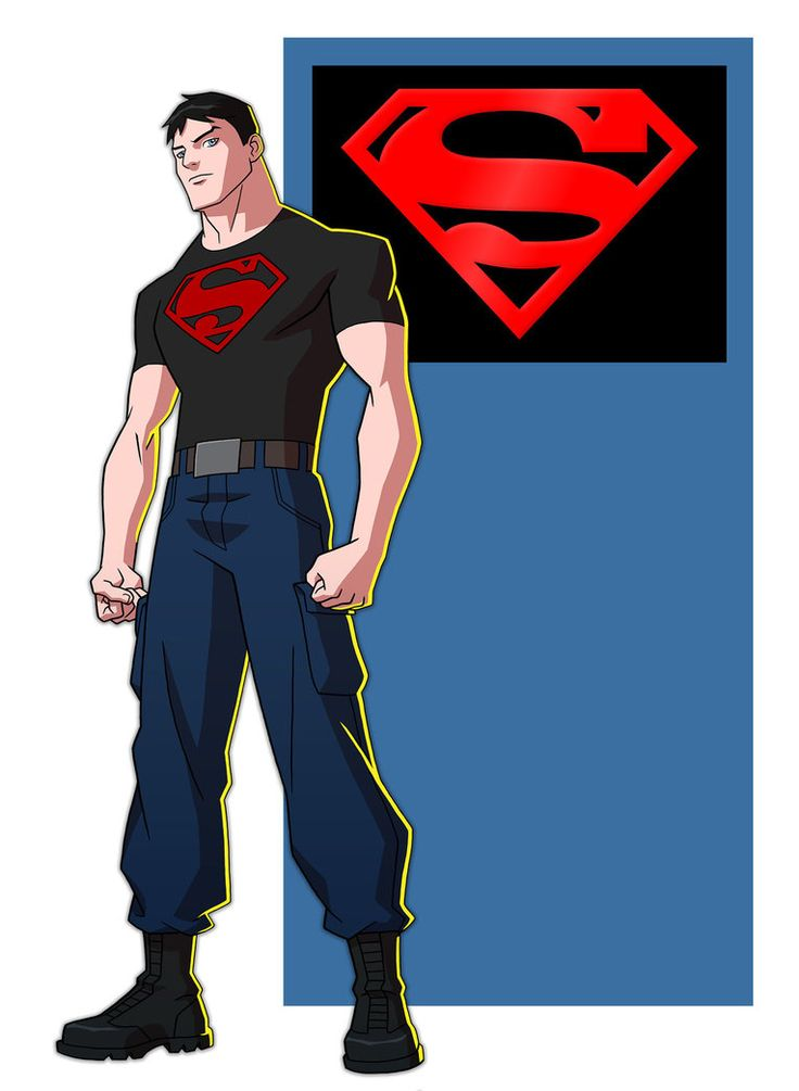 YOUNG JUSTICE: SUPERBOY by Jerome-K-Moore on DeviantArt