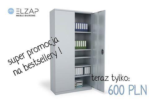 Kolejna odsłona naszej promocji. Sprawdź!  #elzap  #meblebiurowe  #meblemetalowe #szafaaktowa #przechowywanie  #oferta  #promocja #bestseller