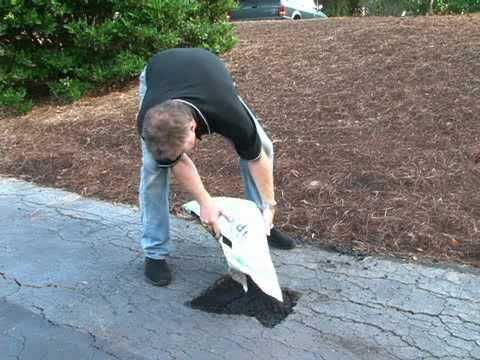 How to repair and patch asphalt with cold patch