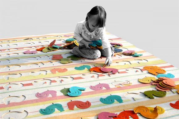 Коврики для детской: практичные, развлекательные, познавательные – Журнал – His.ua