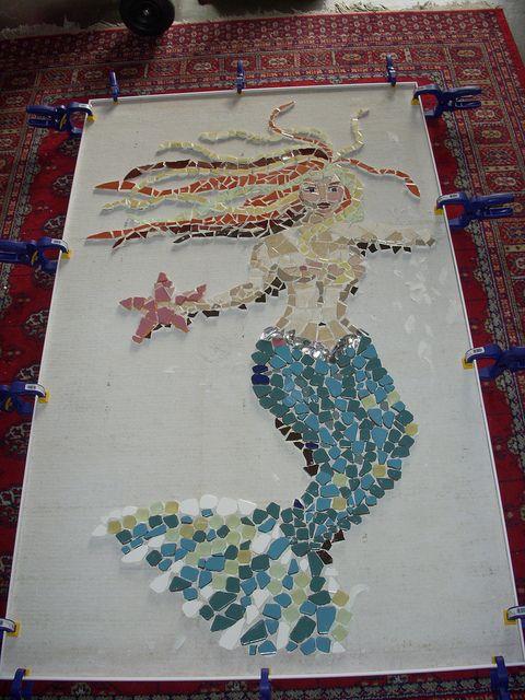 inspiration for my mermaid mosaic