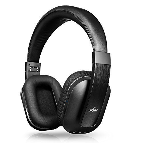 Bluetooth Headphones iDeaUSA Wireless Headphones with Builtin Mic Aptx Noise Isolation Headphones Foldable Over ear Headphones for TV Sports 14 Hours Play Time * You can find out more details at the link of the image.