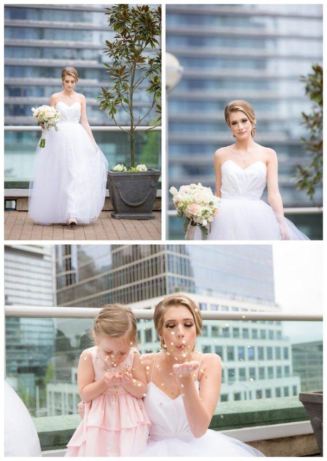 Cinderella inspired bride.