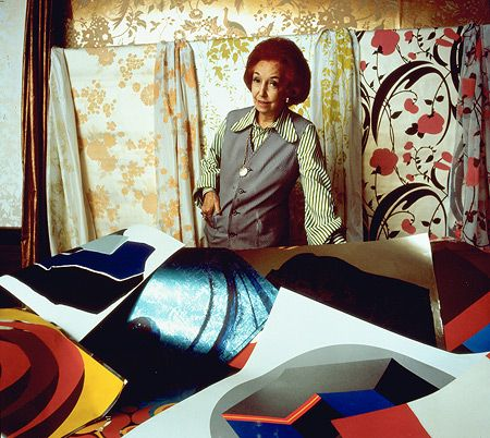 At 60 Florence started an internationally successful wallpaper company whose success was based upon her own designs which became iconic of the '60s and '70s, making their way into homes all over the world. Florence ended up a prolific socialite, famous for her technicolour personality and amazing images.